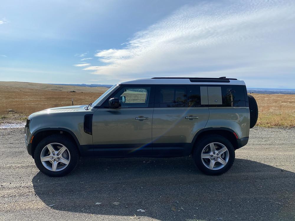 2020 Land Rover Defender 110 SE side view