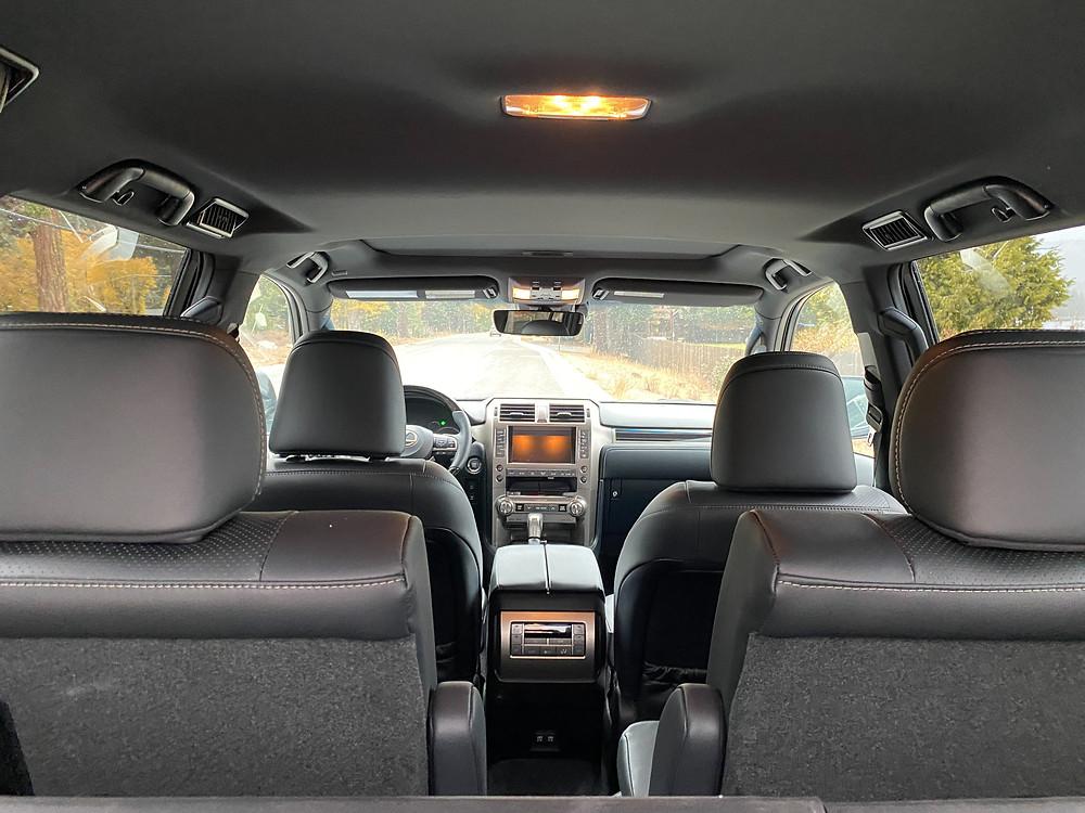 2021 Lexus GX460 interior