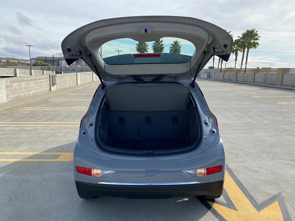 2020 Chevrolet Bolt EV Premium liftgate open