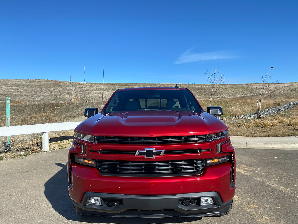 2021 Chevrolet Silverado Crew RST 4WD front view