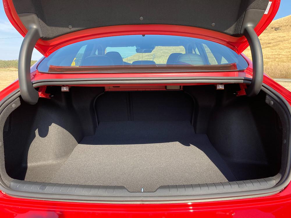2020 Hyundai Sonata Hybrid Limited trunk