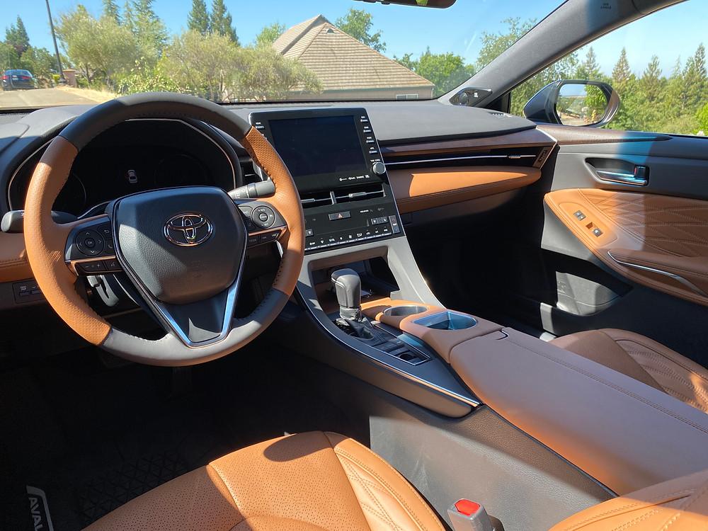 2021 Toyota Avalon Limited AWD instrument panel
