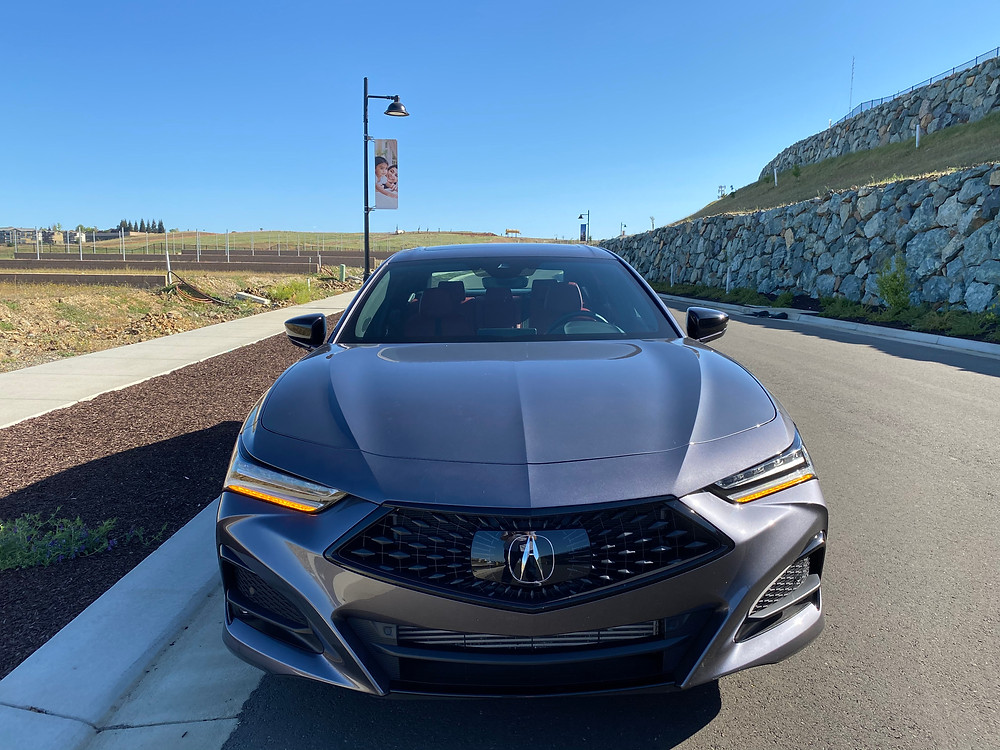2021 Acura TLX SH-AWD A-Spec front view