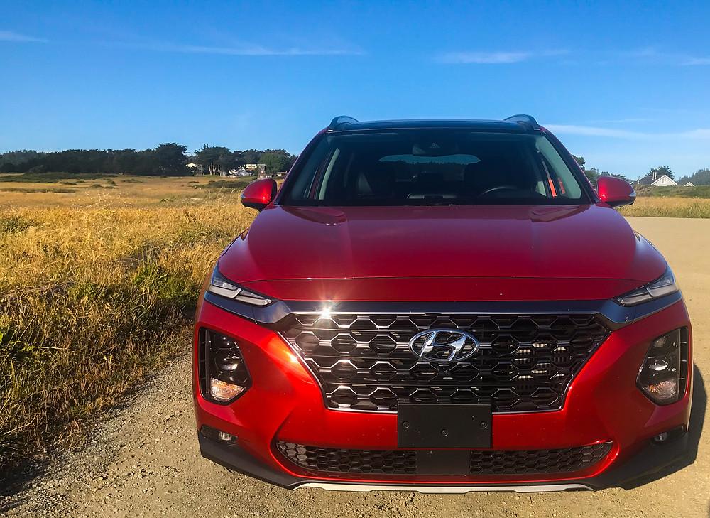 2020 Hyundai Santa Fe Limited 2.0T front view