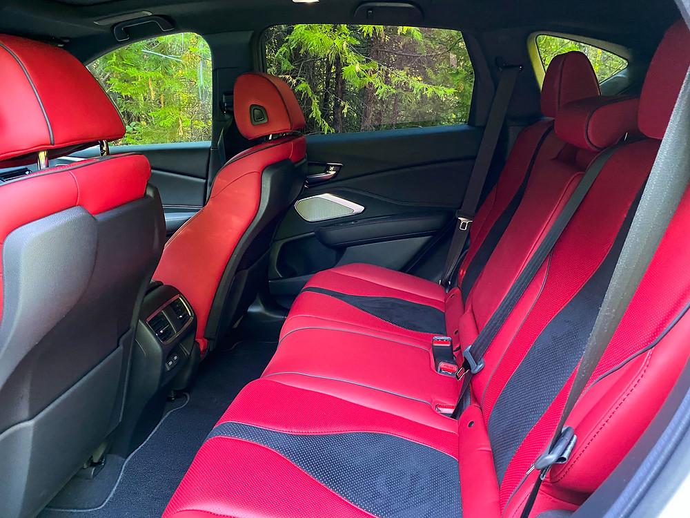 2020 Acura RDX SH-AWD A-Spec rear seat