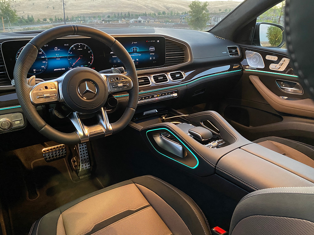 2021 Mercedes-Benz AMG GLE 53 Coupe instrument panel
