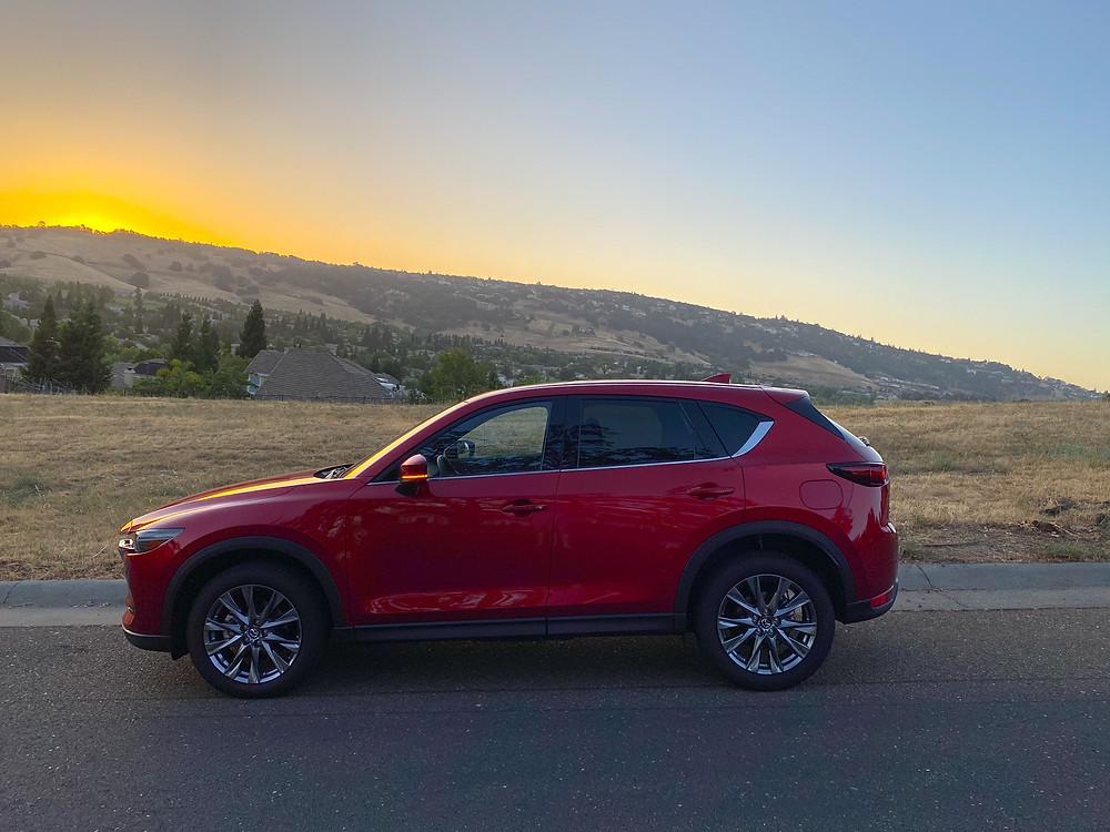 2020 Mazda CX-5 Signature AWD side view