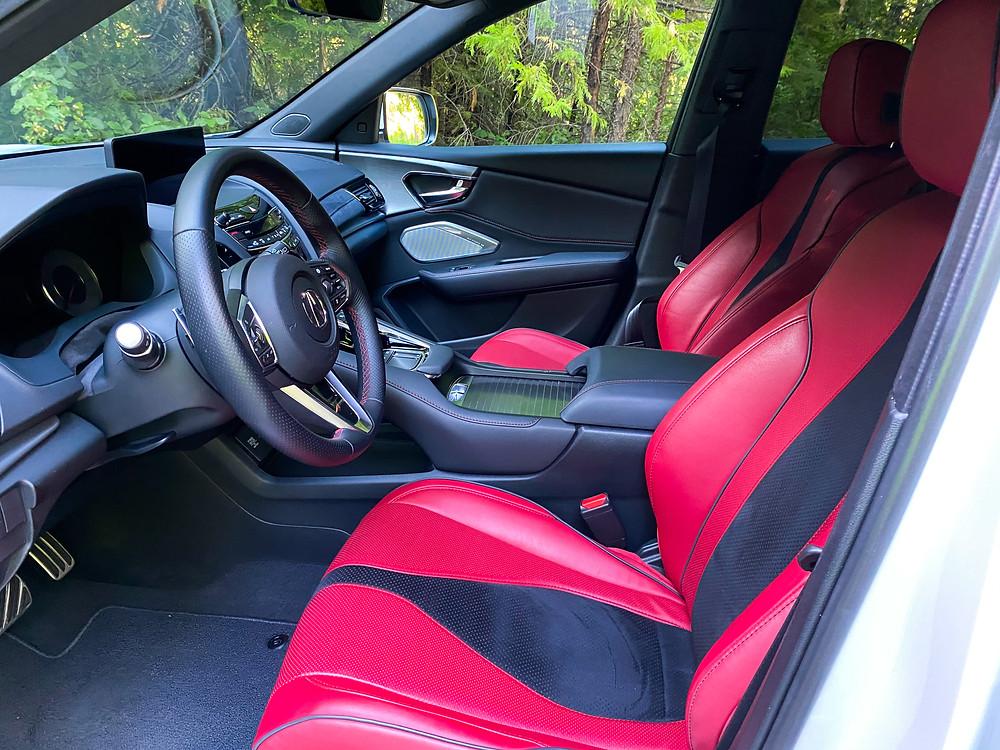 2020 Acura RDX SH-AWD A-Spec front seats
