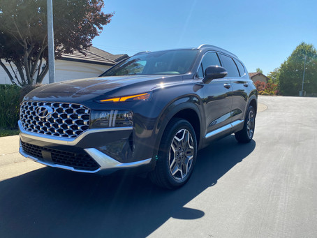 The Great Chase Continues: The 2021 Hyundai Santa Fe Hybrid Limited AWD