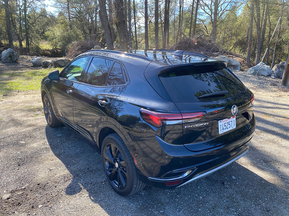 2021 Buick Envision rear 3/4 view