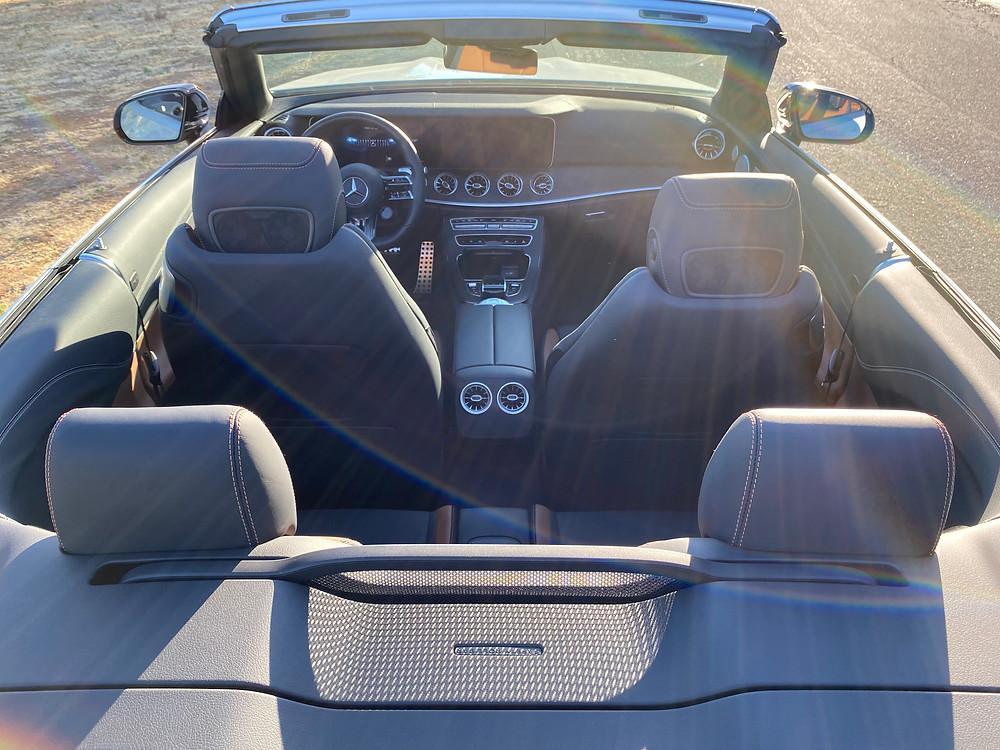 2021 Mercedes-AMG E53 Cabriolet interior