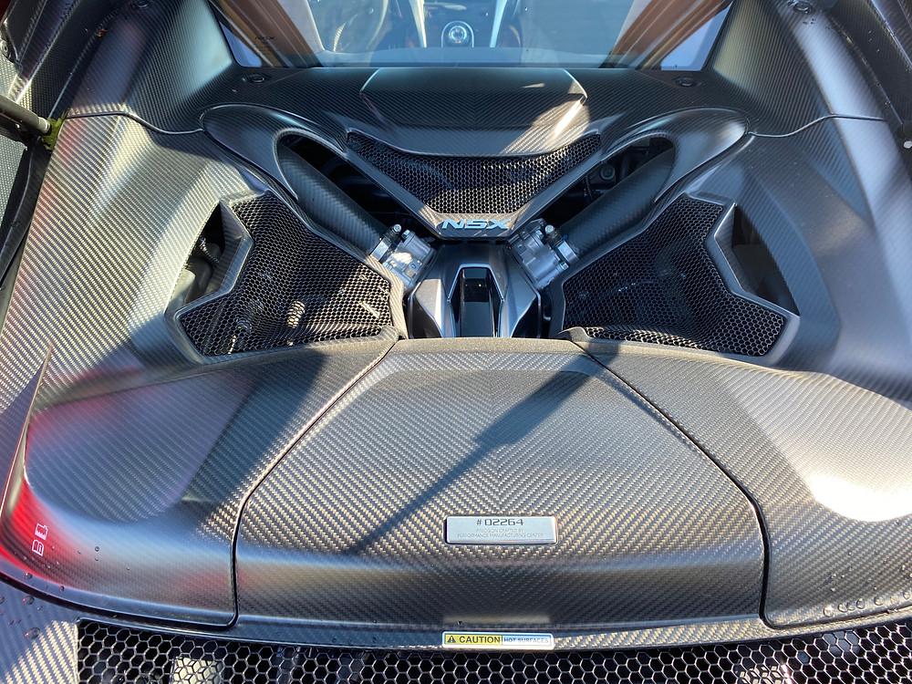 2020 Acura NSX engine