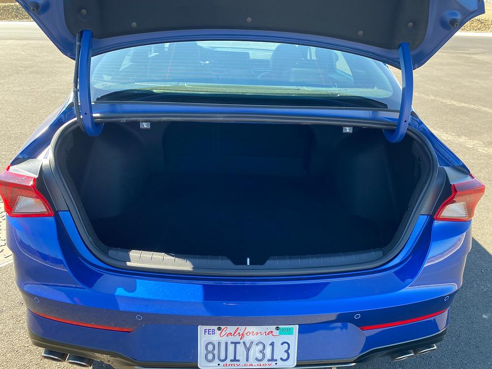2021 Kia K5 GT trunk open