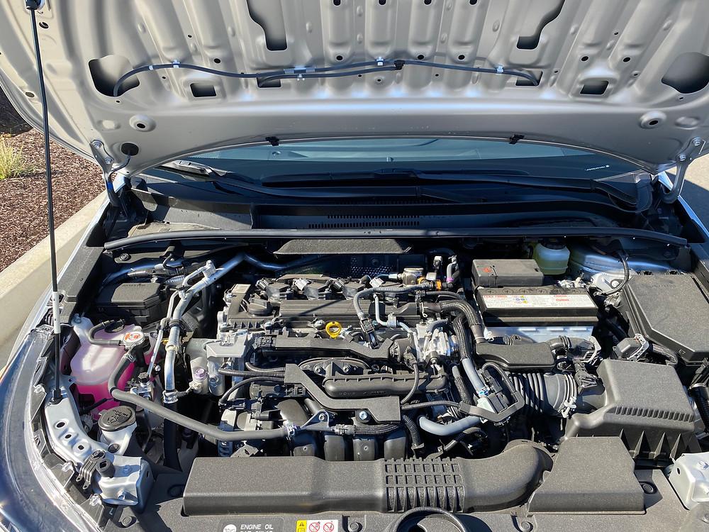 2021 Toyota Corolla Hatchback SE Nightshade engine