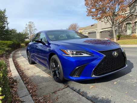Sneaky: The 2021 Lexus ES350 F SPORT