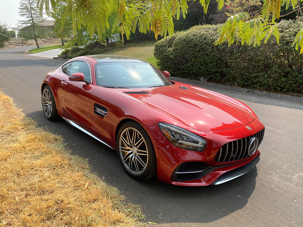 2020 Mercedes-AMG GT C front 3/4 view