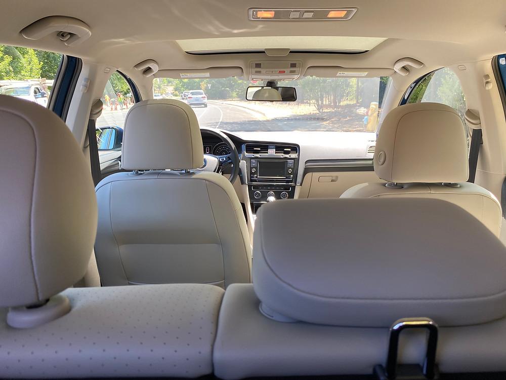 2021 Volkswagen Golf TSI interior