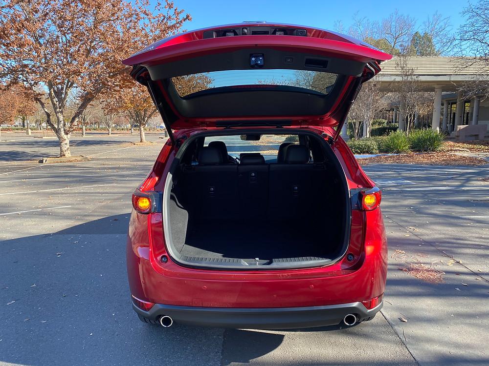 2021 Mazda CX-5 Signature AWD liftgate open