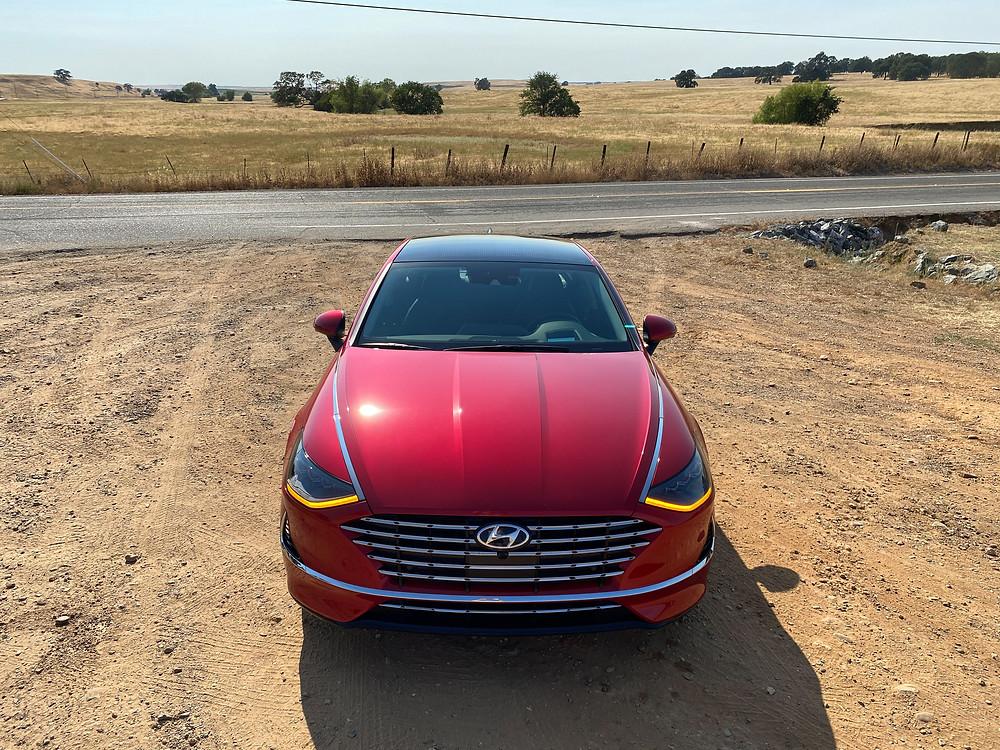 2020 Hyundai Sonata Hybrid Limited front view