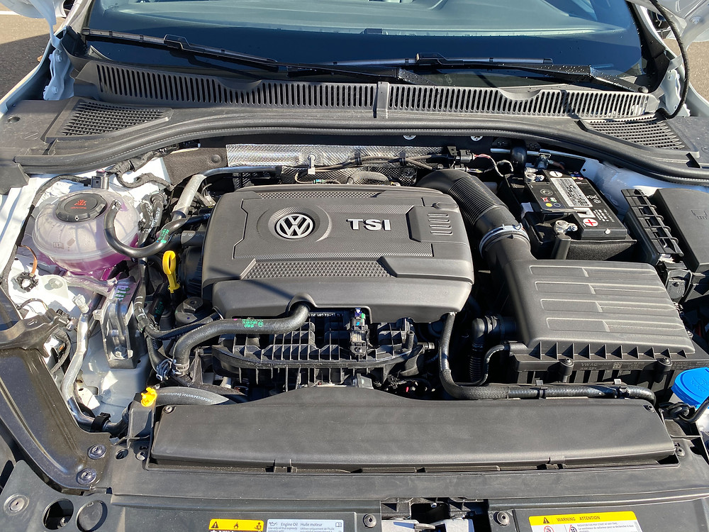 2021 Volkswagen Jetta GLI Autobahn engine