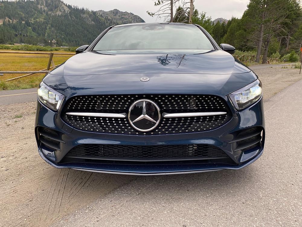 2020 Mercedes-Benz A220 Sedan front view