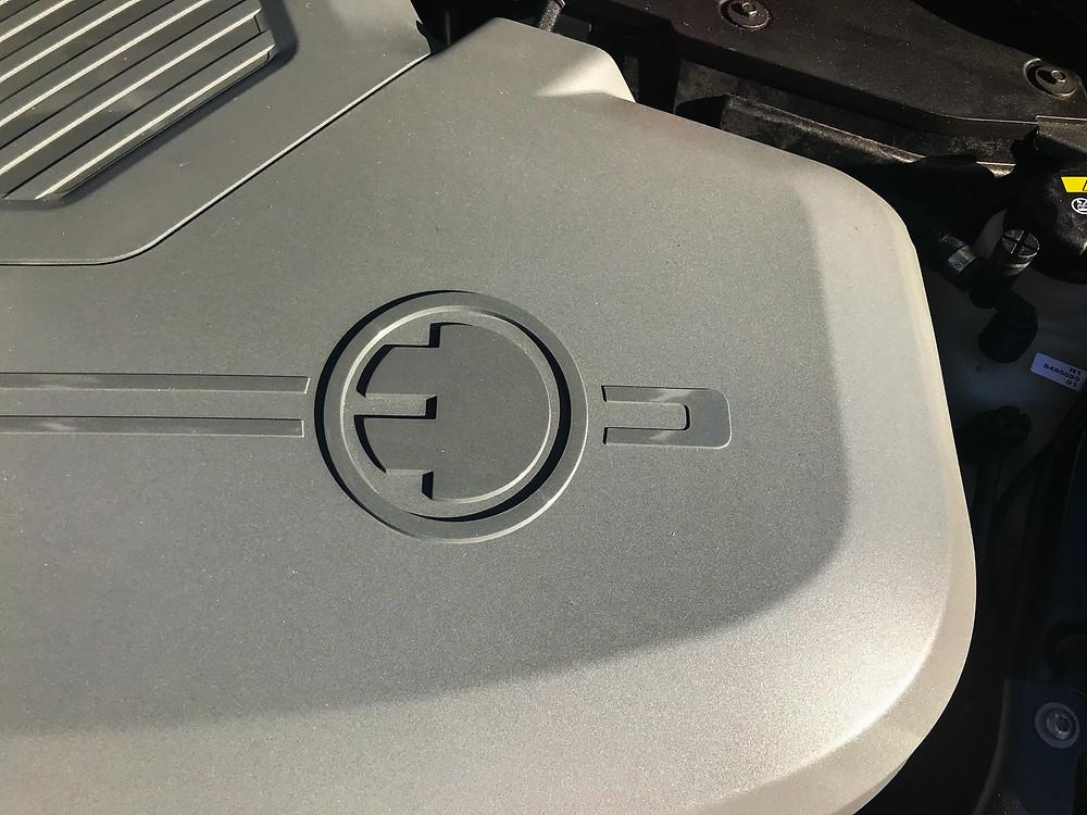 2020 Mini Cooper SE electric motor detail