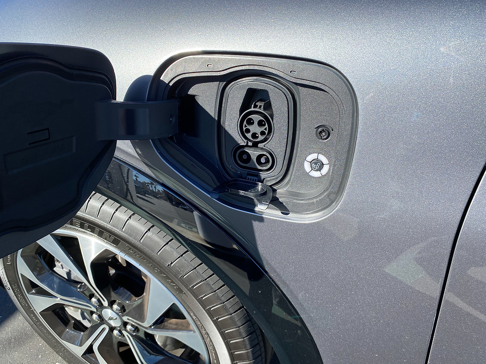2021 Ford Mustang Mach-E charging port