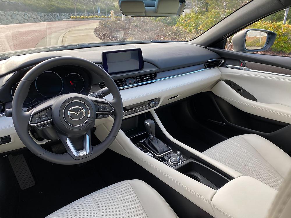2021 Mazda 6 Signature instrument panel