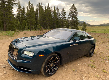 Bring Your Own Night Sky: The 2020 Rolls-Royce Wraith Black Badge