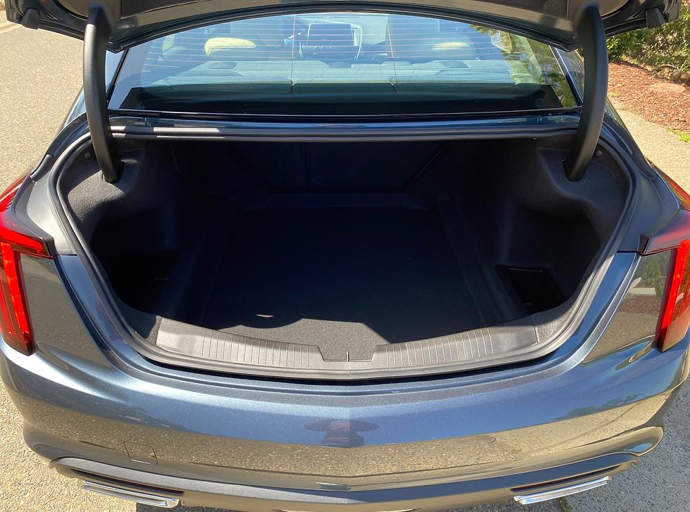 2021 Cadillac CT5 Premium Luxury trunk
