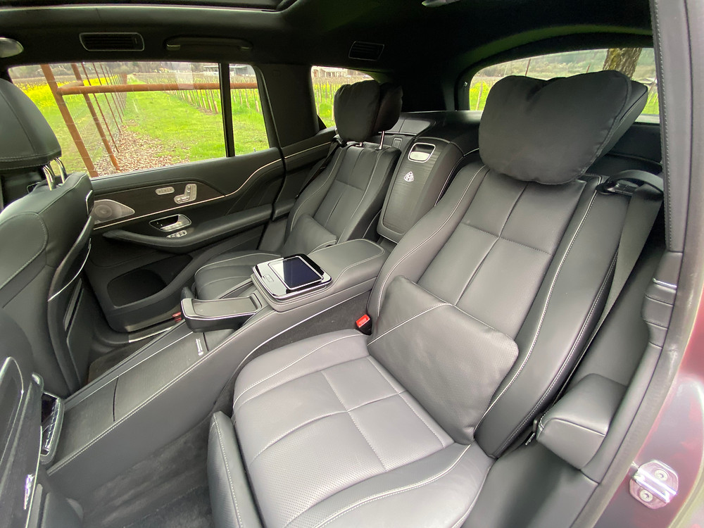 2021 Mercedes-Maybach GLS 600 4MATIC rear seat detail