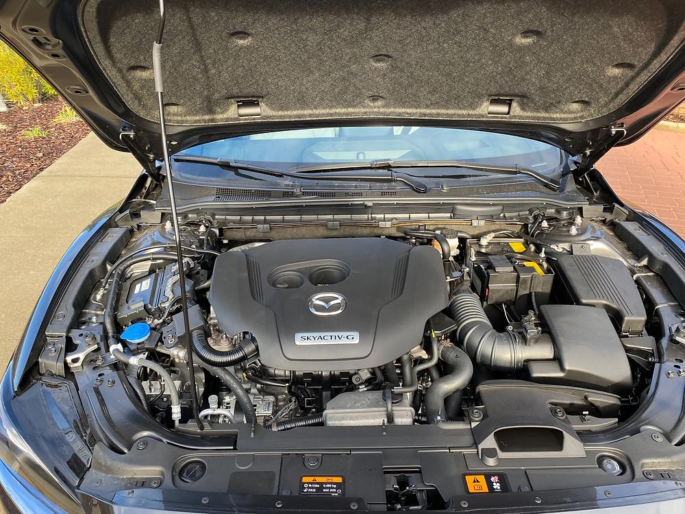 2021 Mazda 6 Signature engine