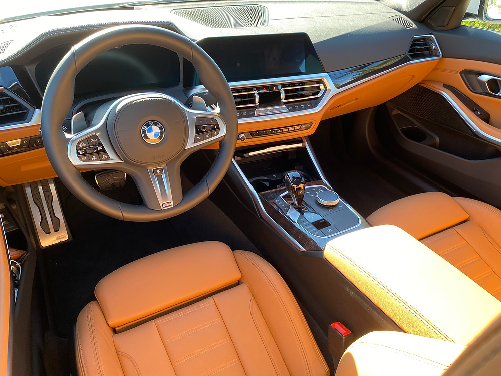2021 BMW 330e instrument panel