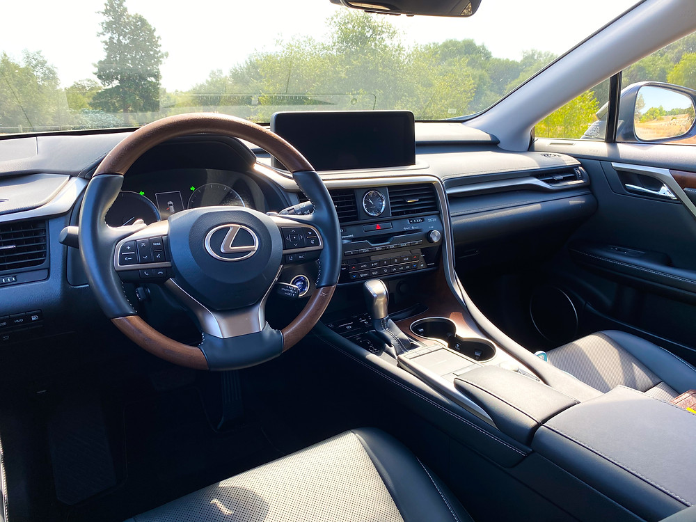 2020 Lexus RX 450hL instrument panel