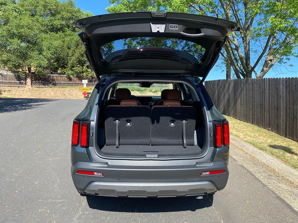 2021 Kia Sorento X-Line AWD rear liftgate up