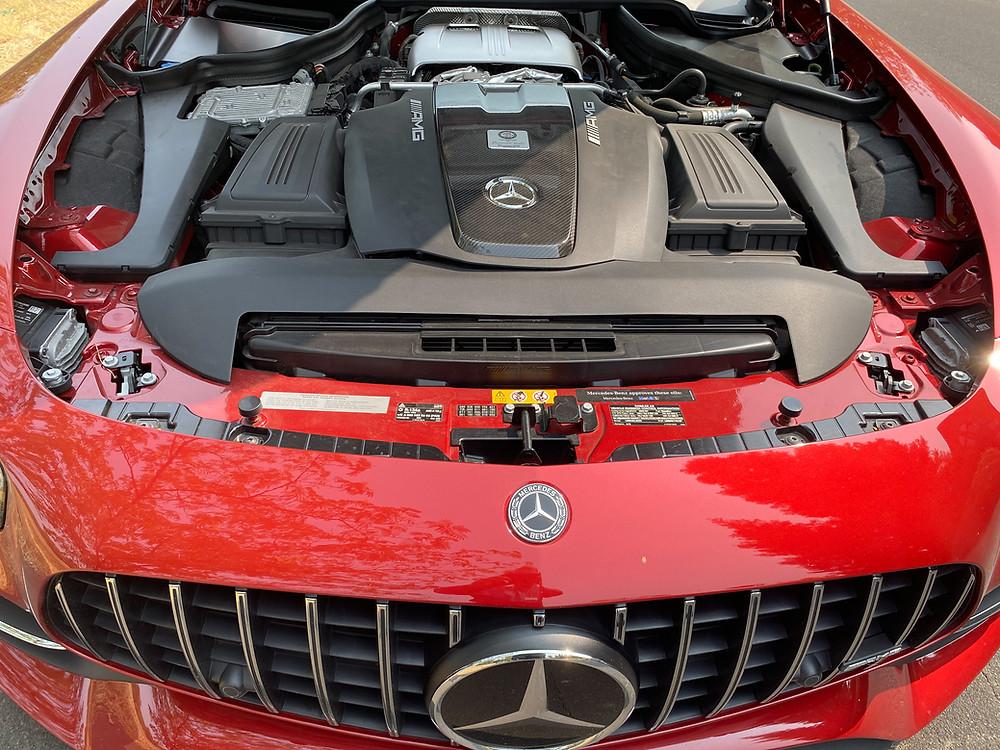 2020 Mercedes-AMG GT C engine