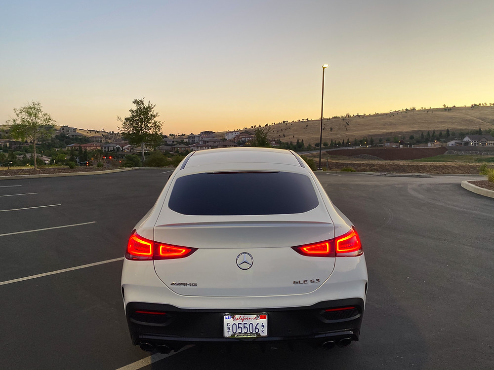 2021 Mercedes-Benz AMG GLE 53 Coupe rear view