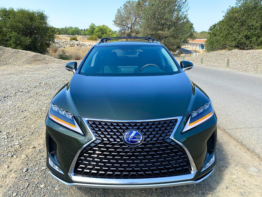 2020 Lexus RX 450hL front view