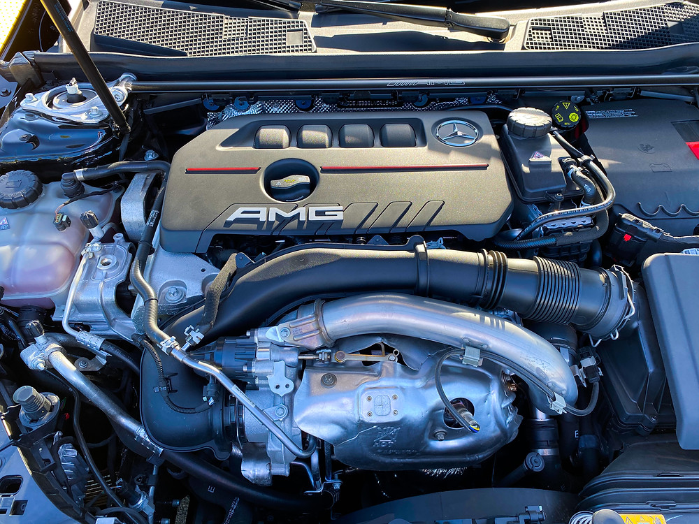 2020 Mercedes-Benz AMG CLA35 4MATIC engine