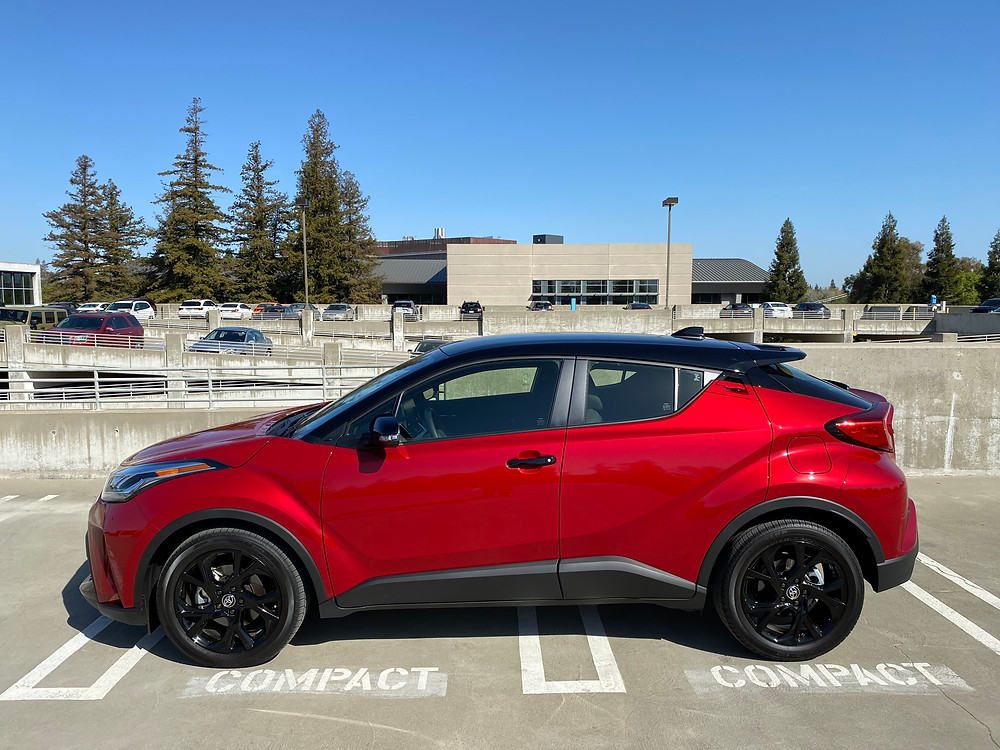 2021 Toyota C-HR Nightshade Edition side view
