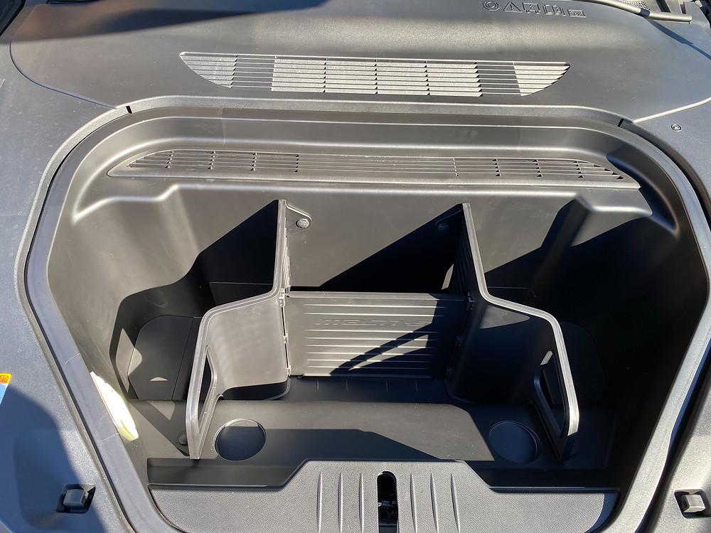 2021 Ford Mustang Mach-E frunk detail