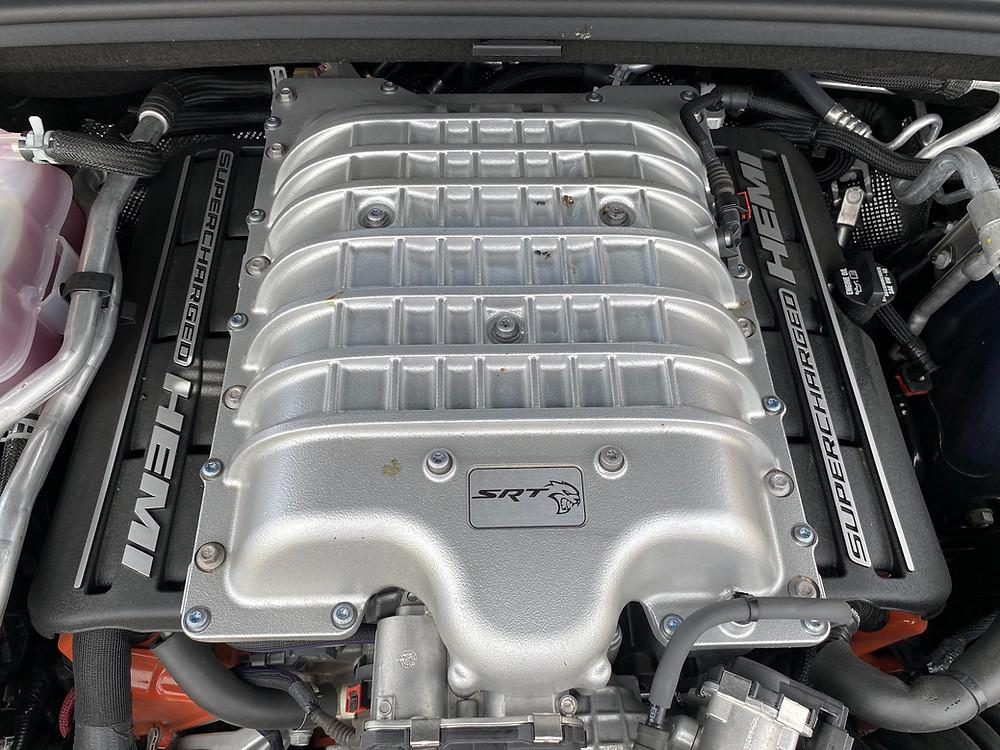 2021 Dodge Durango SRT Hellcat AWD engine detail