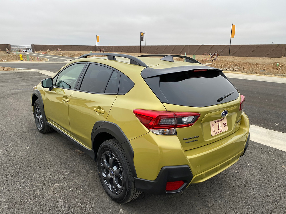 2021 Subaru Crosstrek Sport rear 3/4 view