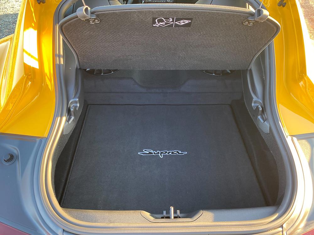 2021 Toyota GR Supra 2.0 trunk