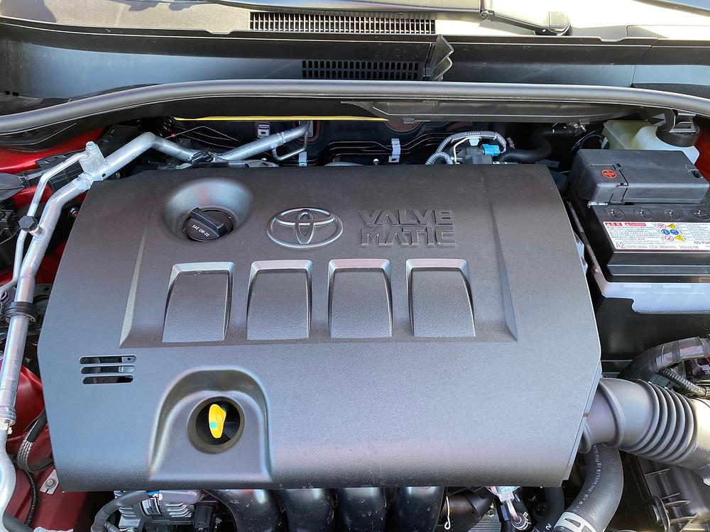 2021 Toyota C-HR Nightshade Edition engine detail