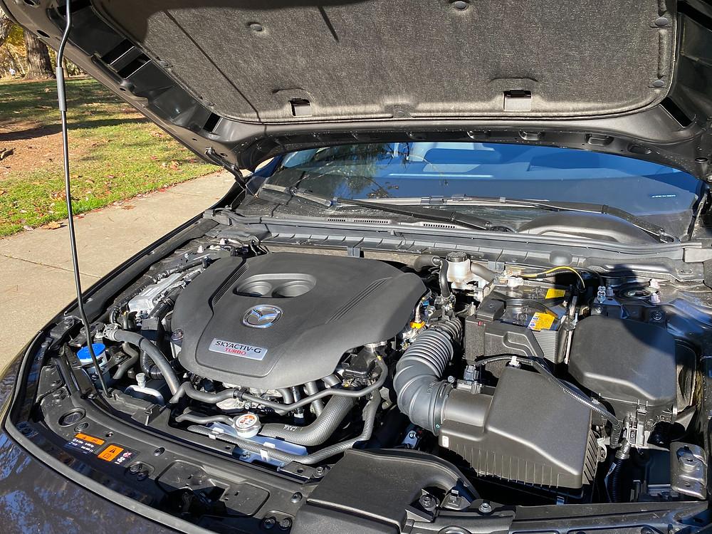 2021 Mazda 3 2.5 Turbo AWD engine
