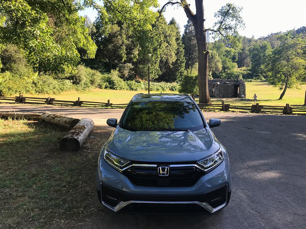 2020 Honda CR-V Hybrid Touring front view