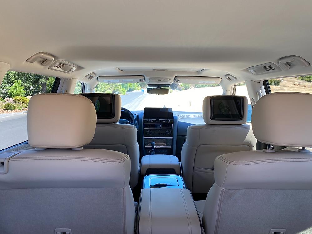 2021 Nissan Armada Platinum AWD interior