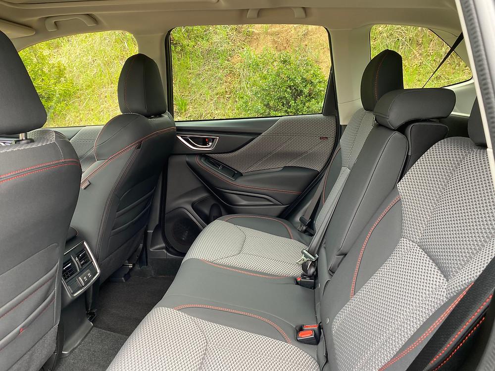 2021 Subaru Forester Sport rear seat