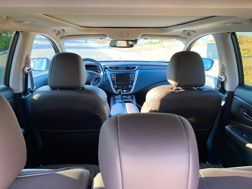 2020 Nissan Murano Platinum FWD interior
